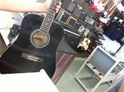 SAVANNAH MUSICAL INSTRUMENTS Acoustic Guitar SGD-10-BK
